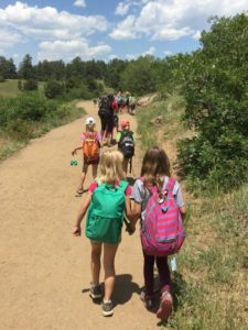 Woodpecker Campers Hiking