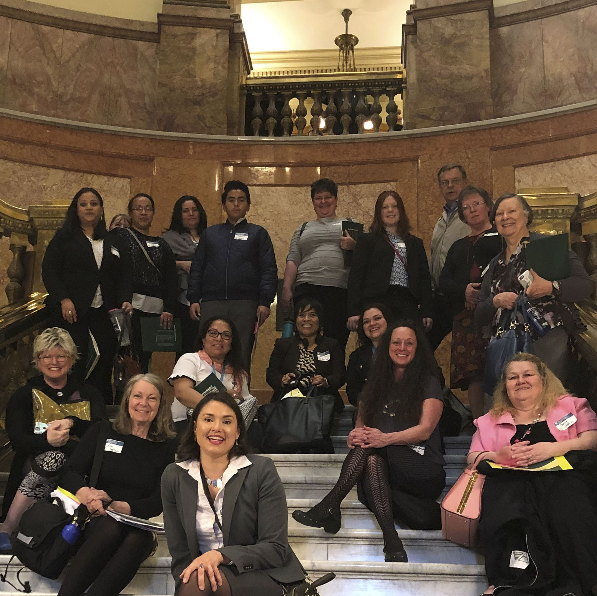 2019 jeffco FLTI group at CO state capitol